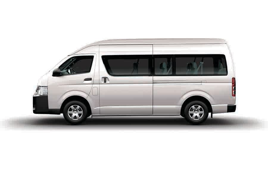 12 Seater Bus (Group W)